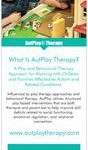 AutPlay Therapy Marketing Rack Cards